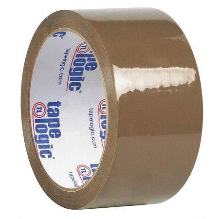 Natural Rubber Tape, 1.9 Mil, 2''x55 yds, Tan, PK36