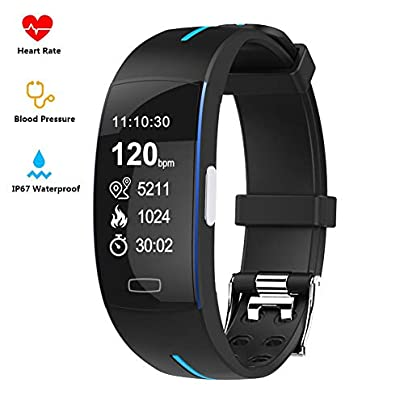 Tomorrow Sun Shine Fitness Tracker ECG PPG Heart Rate Monitor Blood Pressure Sleep Monitoring Smart Bracelet IP67 Waterproof Smart Wearable Wristband Activity Track Pedometer Estimated Price £55.39 -
