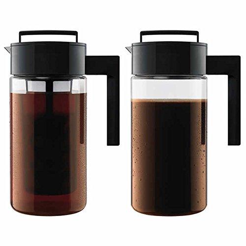 - Takeya Cold Brew Iced Coffee Maker, 1-Quart, Black (2)