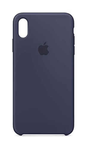 best service 229e2 92c0c Apple Silicone Case (for iPhone Xs Max) - Midnight Blue