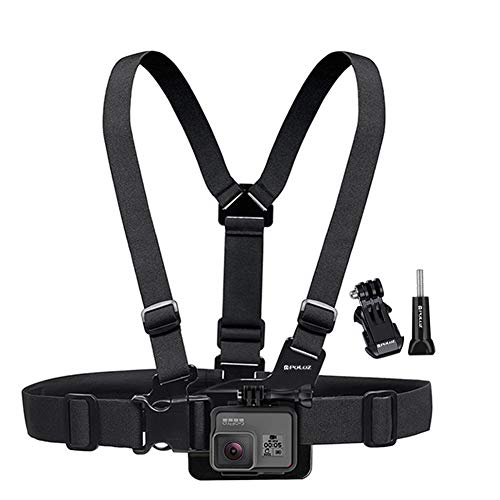 Ocamo Adjustable Body Mount Belt Chest Strap Hook Mount for GoProHERO 6 5 Session 4 Session by Ocamo