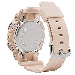 Casio GMAS130PA-4A G-Shock Step Tracker Women's Watch Soft Pink 49.5mm