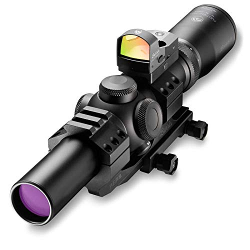 Burris 200437-FF MTAC 1-4x24 Scope with Fastfire (Black)