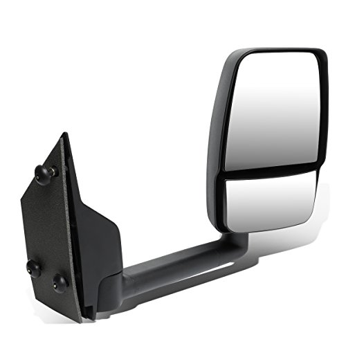 DNA MOTORING MR-OEM-008-R Right/Passenger Manual Side View Mirror [for 03-18 Chevy Express/GMC Savana] ()