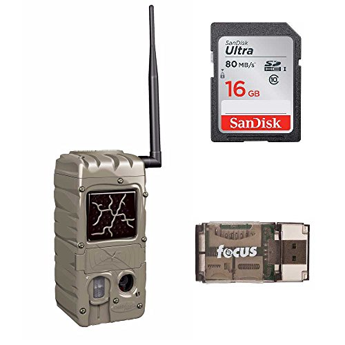 Cuddeback 20MP Dual Flash Trail Camera with CuddeLink Wireless Network CL-Cap & SD Card