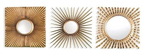 3-Pc Decorative Wall Mirror Set by Southern Enterprises