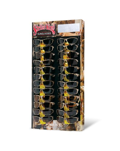 Strike King Camouflage Sunglass Display 24 Bait (Assorted, ()