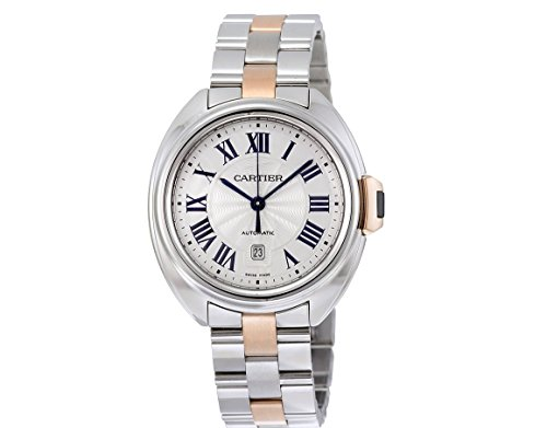 Cartier Cle automatic-self-wind womens Watch w2cl20004 (Certified Pre-owned)