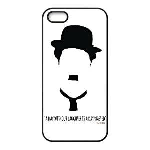 XOXOX Customized Cell phone Cases of Charles Chaplin Phone Case For iPhone 5,5S [Pattern-6]