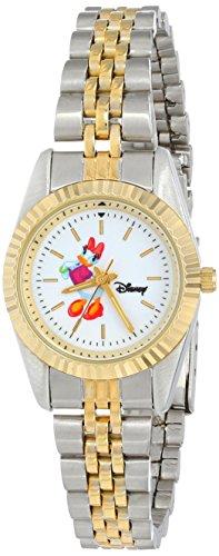 Disney Women's D114S776 Daisy Duck Two-Tone Bracelet Watch