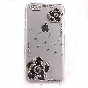 MOFY- elegante estuche r'gido de la flor del dise–o de la PC para el iphone 6 m‡s