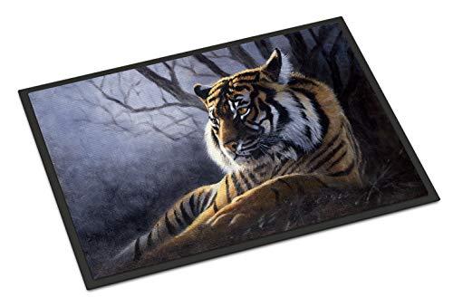 Caroline's Treasures Bengal Tiger by Daphne Baxter Indoor or Outdoor Mat 18x27 BDBA0251MAT 18
