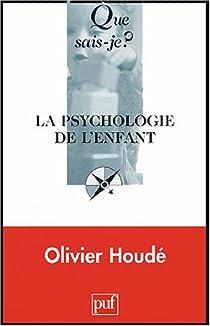 La psychologie de l'enfant par Houdé