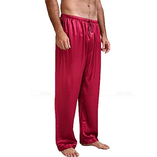 Sonno Nero Pigiama Splento L In Uomo Fondo Raso Pantaloni 60aYqOw