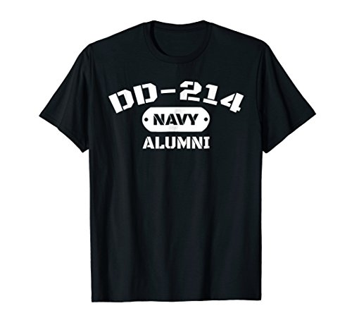 DD-214 US Navy Alumni T-Shirt