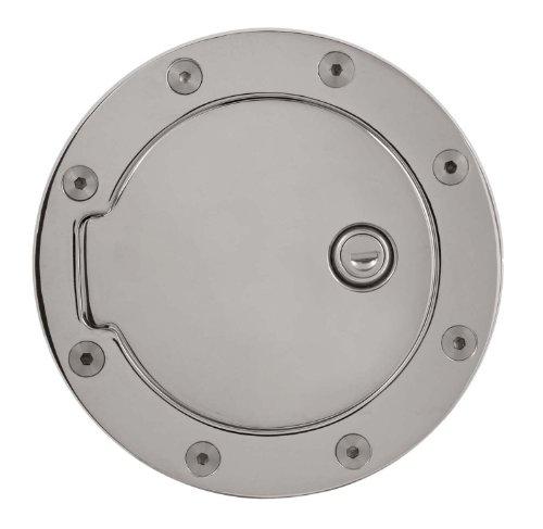 Bully GD-301CK Chrome Fuel Door with (Chrome Billet Aluminum Fuel Door)