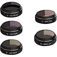 Filters Lens For DJI MAVIC Pro,G-HD ND4 / G-HD ND8 / G-HD ND16 / G-MRC UV / G-MRC CPL Filters Lens Set for DJI MAVIC Pro Rc Quadcopter