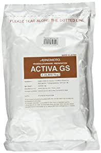 Ajinomoto Activa GS (Transglutaminase Meat Glue), 2.2-Pound Bag