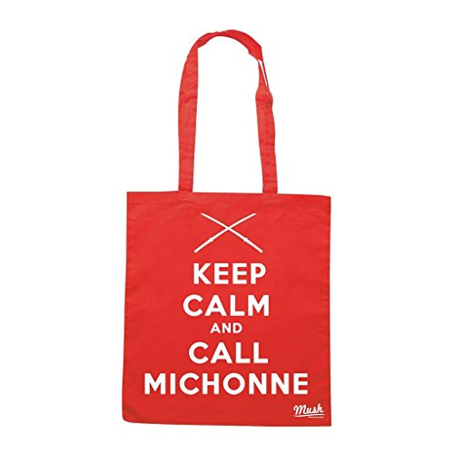 Borsa Keep Calm Michonne Walking Dead - Rossa - Film by Mush Dress Your Style