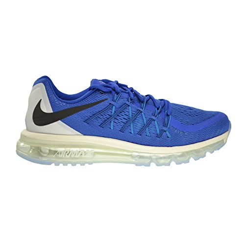 sale retailer e1fb9 1b00e Nike Air Max 2015 Men s Shoes Game Royal Black-White-Blue Lagoon 698902-400  (9 D(M) US) - Buy Online in Oman.   Apparel Products in Oman - See Prices,  ...