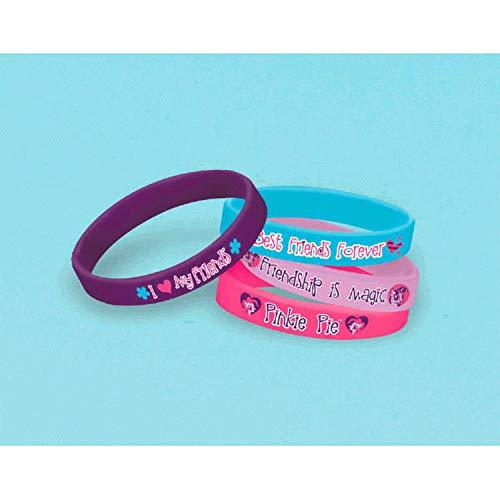 Bracelets Friendship 36 (Amscan Rubber Bracelet | My Little Pony Friendship Collection | Party Accessory | 36 Ct.)