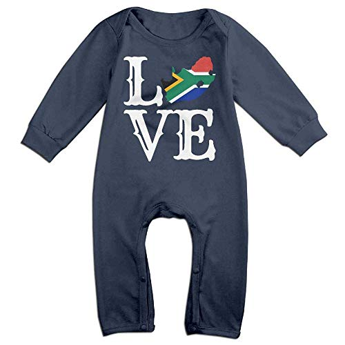 Baby Boy Long Sleeve Jumpsuit Love South Africa-1 Toddler Jumpsuit Navy -
