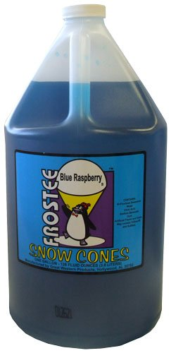 Great Western Blue Raspberry Sno-Cone Syrup 1 #15044 (Gallons Sno Cone Syrups)
