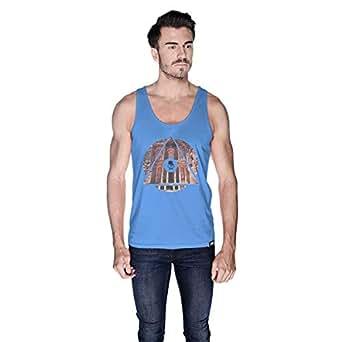 Creo Jordan Tank Top For Men - S, Blue
