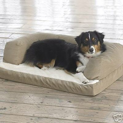 NEW Extra Large 54″ x 34″ Beasley's Couch Dog Bed!, My Pet Supplies