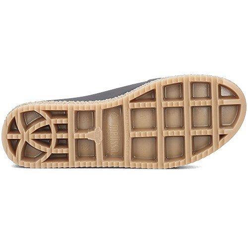 31882 Abierta 100 Zapatos beige Melissa Punta Negro Mod De Puzzle Caucho Mujer Arte En Ad OtxxvqwgA