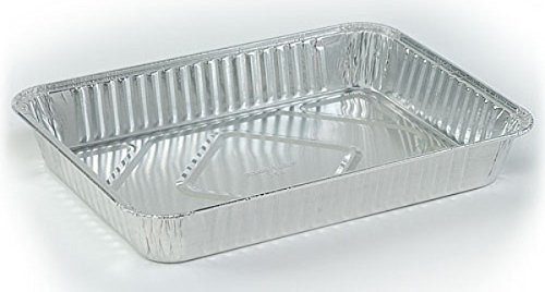 DollarDays 2269760 Nicole Aluminum Oblong Cake Pan - Case of 100