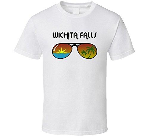 Jokertshirt Wichita Falls Sunglasses Favorite City Fun In The Sun T Shirt S - Sunglasses Wichita