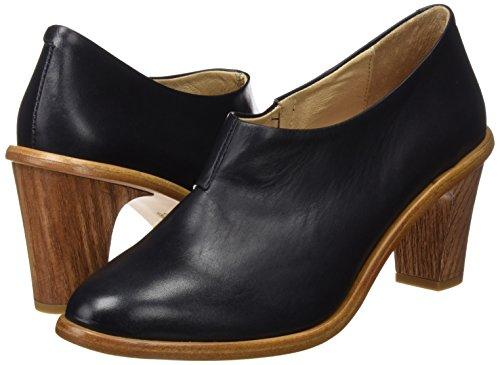 cynthia Mujer Punta Para Negro ebony Neosens Restored De Con Ebony Cerrada S535 Zapatos Skin Tacón qPIP7z