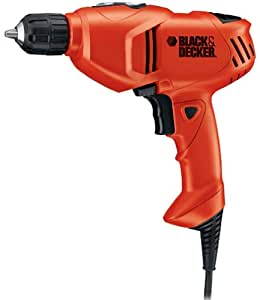 Black & Decker DR201K 5 Amp 3/8-Inch Drill with Keyless Chuck