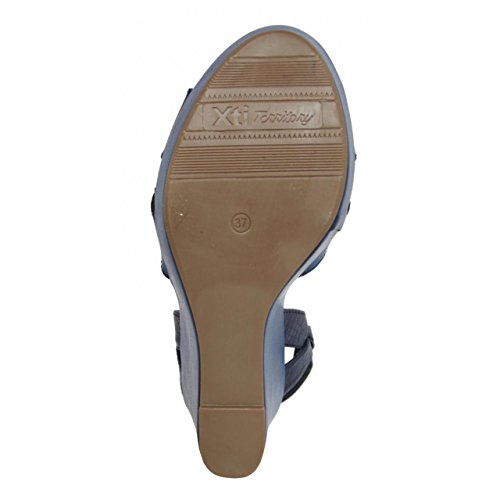 45099 Sandalen XTI für Damen Navy tYgxqBf