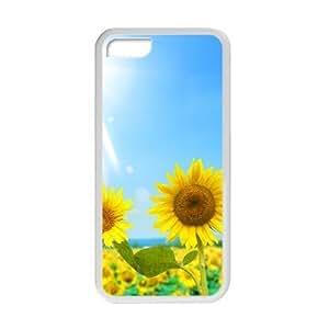 XiFu*MeiWelcome!iphone 4/4s Cases-Brand New Design Beautiful Sunflower Printed High Quality TPU For iphone 4/4s 4 Inch -02XiFu*Mei