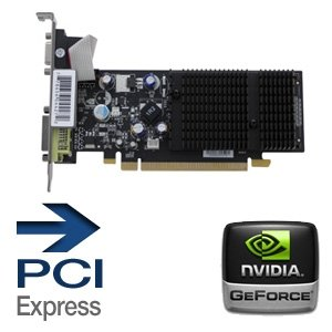 Pci Mb Card 512 Video (XFX nVidia GeForce 8400GS 512 MB VGA/DVI PCI-Express Video Card PVT86SYHLG)