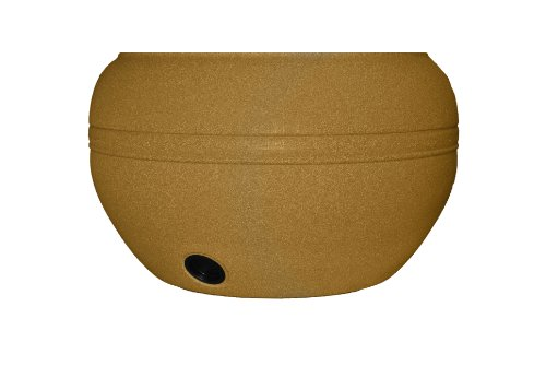 Tusco Products HP01SS Hose Pot, 20-Inch, Sandstone