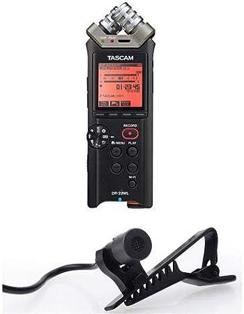 4GB microSD Card Tascam DR-22WL Portable Handheld Digitral Audio Recorder Wi-Fi