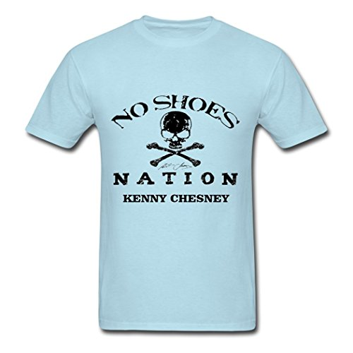 Nation Adult T-shirt - Sun-Tshirt Adult Kenny Chesney No Shoes Nation Summer Tees
