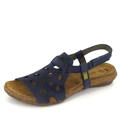El Naturalista N5064 Wakataua Klassiske Damer Sandal I Læder Med Velcro Ocean 4bd0DMu