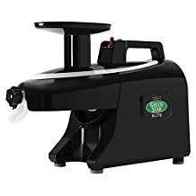 Tribest Greenstar Elite GSE-5010 Jumbo Twin Gear Cold Press Juice Extractor, Black