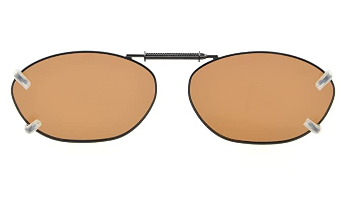 Eyekepper Metallrahmen Felge polarisierte Linse Clip auf Sonnenbrille 51x33MM Graues Linse rsdiIfdAq