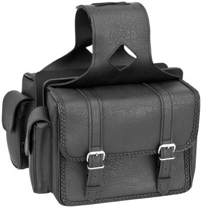 Road Braided Compact - River Road Compact Saddlebags - Braided