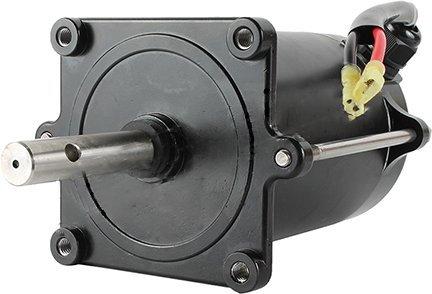 New Salt Spreader Motor For Buyer 1400601SS 1400701SS 2.5-4.5 Cubic YD Converyor
