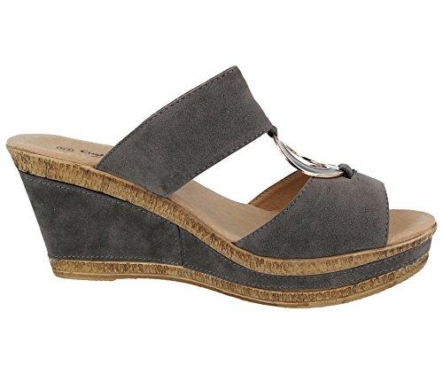 Mules Walk Cushion Cushion Mules Femme Gris Walk Mules Walk Cushion Femme Gris Femme anFqASU6w