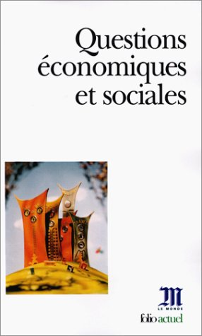Questions Econ Et Socia (Monde Actuel) (English and French Edition) PDF
