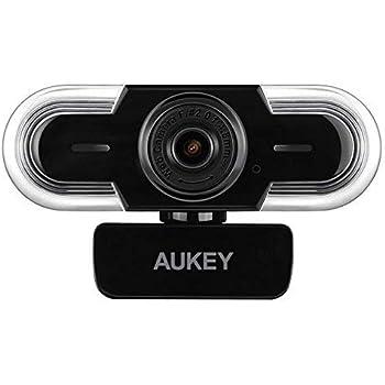 Amazon com: AUKEY FHD Webcam, 1080p Live Streaming Camera