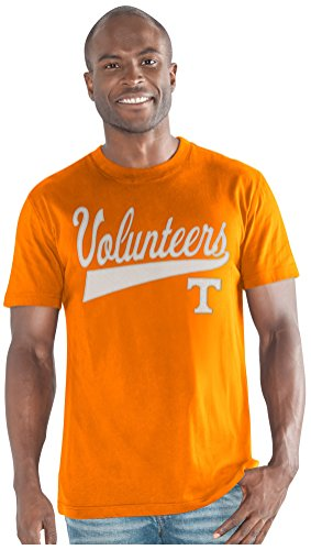 G-III Sports NCAA Tennessee Volunteers Men's Legend Short Sleeve Top, Orange, Large