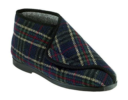 Chiusura William Uomini Gbs Tocco Britannico Grandi 45 Pantofole Di Velcro Controllo Pantofole A8w4qEw5x